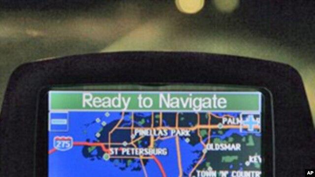 A Garmin global positioning navigational system, or GPS (FILE).