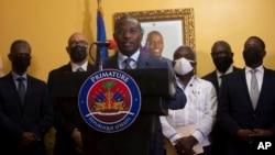 Kaimu waziri mkuu wa Haiti Claude Joseph