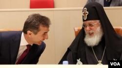 პრემიერი ივანიშვილი და კათოლიკოს-პატრიარქი ილია მეორე