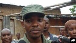 Inácio João Dina, porta-voz da Polícia de Moçambique