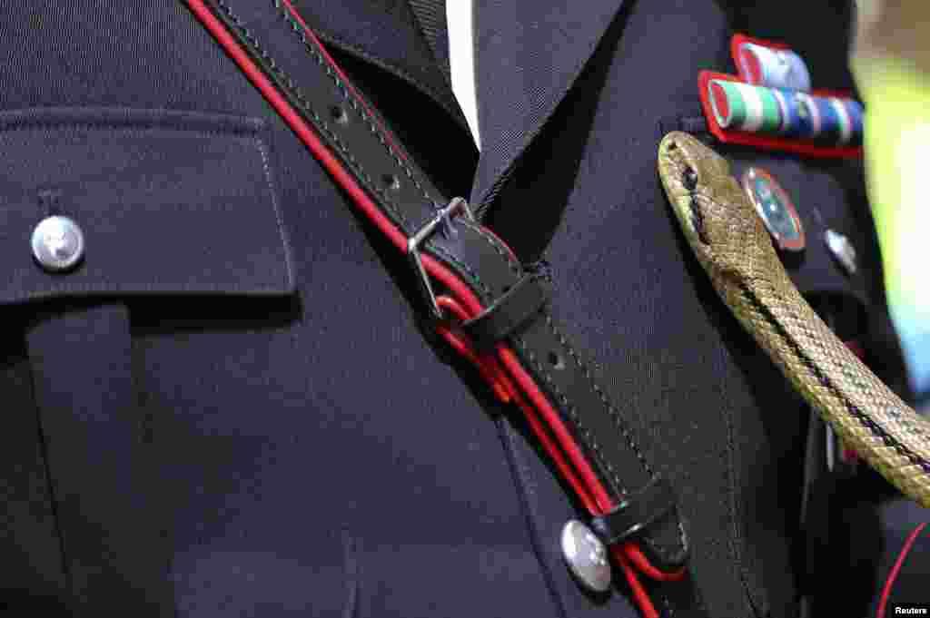 سینٹ ڈومینکو سانپ کے ڈسے لوگوں کا دیوتا ہیں۔