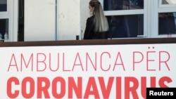 Ambulanta u Prištini - prestonici Kosova (Foto: Reuters)