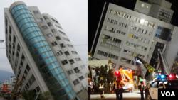 海峡论谈:台湾花莲陷地震灾害 患难中谁是真爱?