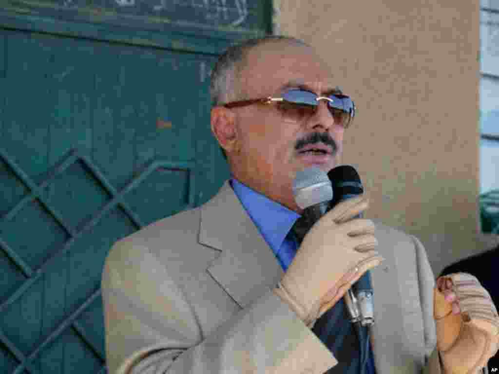 Yemen's President Ali Abdullah Saleh. (Reuters)