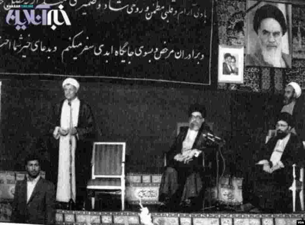 مراسم تنفیذ اکبر هاشمی رفسنجانی ١٢ مرداد ١٣٦٨ برگزار شد.این اولین انتخابات ریاست جمهوری در دوره رهبری آیت الله خامنه ای و پس از مرگ آیت الله خمینی به شمار میرود. پیش از این با بازنگری قانون اساسی جمهوری اسلامی ایران، پست نخستوزیری حذف و رئیس جمهوری بالاترین مقام اجرایی کشور شده بود.