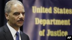 U.S. Attorney General Eric Holder (File Photo)