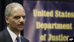 U.S. Attorney General Eric Holder (File Photo)