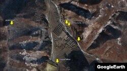 Foto satelit Google menunjukkan lokasi-lokasi di Korea Utara di mana diduga merupakan kamp-kamp tahanan politik. Diperkirakan 200 ribu orang ditahan di kamp-kamp ini (foto: dok).