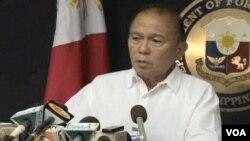 菲律賓外交部助理部長亞殊(視頻截圖)