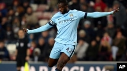 Yaya Touré de Manchester city.