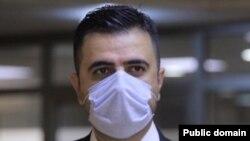 د.ئاسۆ حهوێزی وتهبێژی فهرمی وهزارهتی تهندروستی حكومهتی ههرێمی كوردستان -وێنه -فهیس بووكی د.ئاسۆ