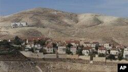 2일 요르단강 서안의 유대인 정착촌.