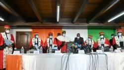 Le Conseil constitutionnel a validé la réélection du président Ouattara