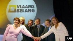 Rukovodstvo belgijske desničarske partije Vlaams Belang