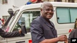 Le président sierra-léonais Ernest Bai Koroma.