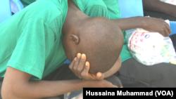 Un repenti de Boko Haram le 3 février 2018 (Hussaina Muhammad /VOA Hausa)