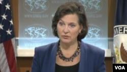 Amerika Dışişleri Bakanlığı sözcüsü Victoria Nuland
