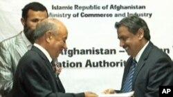 دو مانع عمده فرا روی تجارت ترانزیتی افغانستان و پاکستان رفع شد