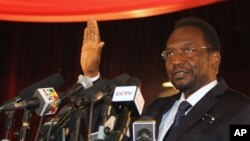 Dioncounda Traoré a prêté serment à Bamako le 12 avril 2012