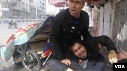 رفیک تکین علی رغم جراحت در جریان فیلمبرداری به کار خود ادامه داد