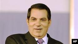 Tunisia's President Zine El Abidine Ben Ali (2008 file photo)
