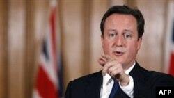 Thủ tướng Anh David Cameron nói rằng những cải thiện an ninh gần đây cho phép Anh bắt đầu rút quân vào năm 2011