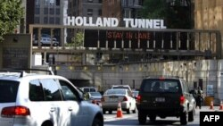 Туннель соединяющий Нью Йорк с Нью Джерси