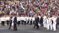 2012-05-18 粵語新聞: 希臘將奧運火炬交給英國