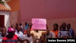 Professores em greve, Malanje, Angola