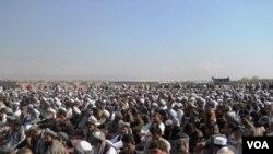 گردهمایی جهادی در هرات، عکس از خلیل نورزایی