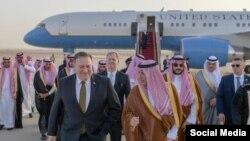 Майк Помпео під час відвідин Саудівської Аравії