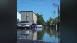 امریکہ میں سمندری طوفان آئیڈا کی تباہ کاریاں