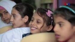 Musiqi köçkün həyatı yaşayan uşaqları xoş gələcəyə ümidləndirir