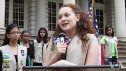 更多女孩加入美国童子军
