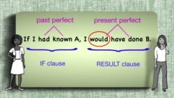 Everyday Grammar: Past Unreal Conditionals