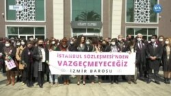 İzmir Barosu'ndan İstanbul Sözleşmesi Tepkisi