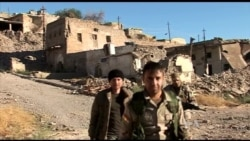 Kurdish Fighters Ready to Take Back Their City