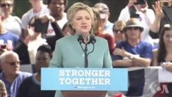 纽约华人两党支持者大选前最后冲刺