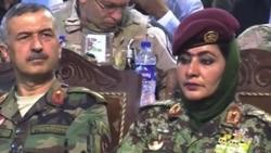Afghan Women Work to Increase Military Presence