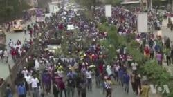 Manifestation de l'opposition au Kenya (vidéo)