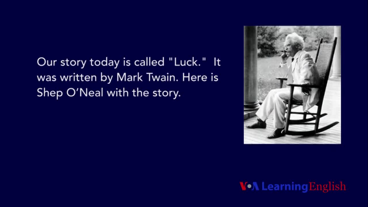 luck by mark twain summary essays Mark twain uses the narrator as a literary device in his short story, luck the author first uses his own voice to give the story an air of authenticity.