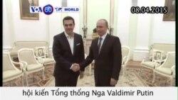 Thủ tướng Hy Lạp hội kiến Tổng thống Nga (VOA60)