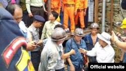 ကေလးဝေက်ာက္မီးေသြးတြင္းေအာက္စီဂ်င္ျပတ္မႈ မိုင္းလုပ္သား ၅ ဦးေသဆံုး (ဓာတ္ပံု-MOI)