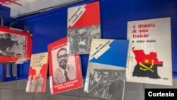 Livros para a exposição bibliográfica sobre Angola