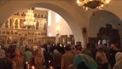 美国的俄东正教徒支持教会传统而非政治