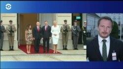 Вице-президент США в Польше