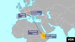 Ethiopian Plane Hijacked