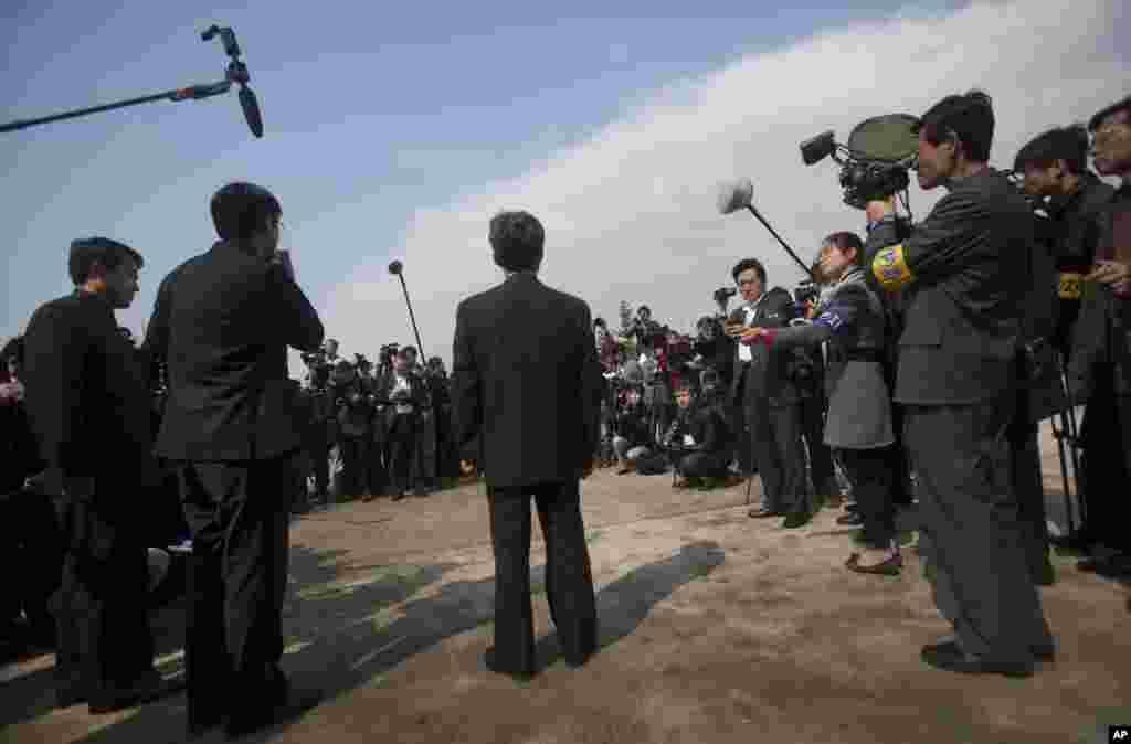 Ryu Gum Chol rechazó acusaciones de que el lanzamiento del satélite sea una prueba para misiles balísticos con capacidad nuclear.