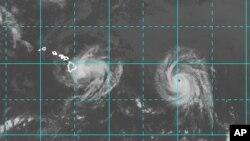 La última vez que Hawái fue afectado por un huracán fue hace 22 años.