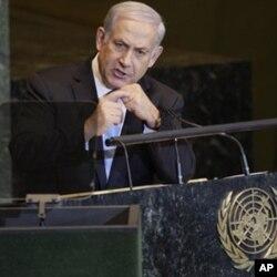Benjamin Netanyahu, à la 66ème Assemblée générale de l'ONU